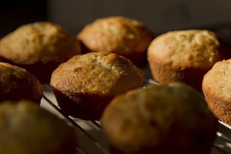 Snelle bananenmuffins met maar 3 ingrediënten!