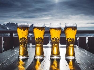 Overzicht van calorieën in bier!