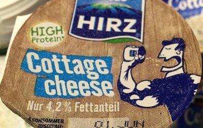 Cottage cheese! Gezond, fris én lekker!