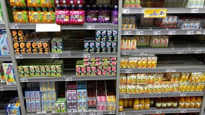 Suiker in drinkpakjes voor kinderen!