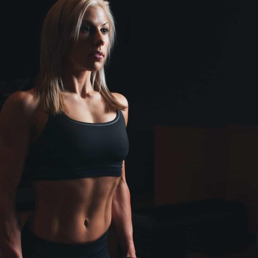 Mentale voorbereiding op een fitness fotoshoot