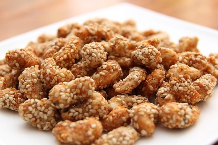 Overzicht met gezonde hartige snacks!
