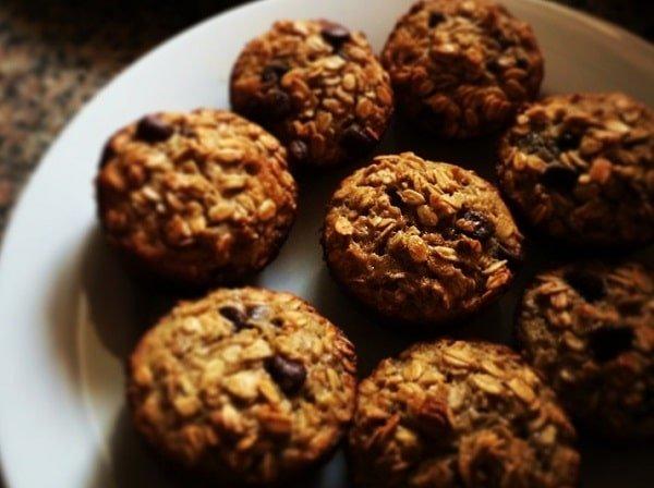 Havermout muffins maken!