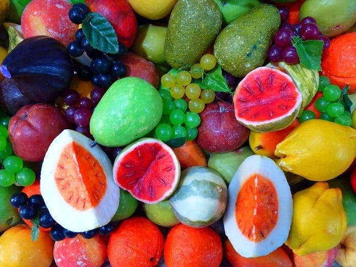 Wat zegt de kleur van groente en fruit?