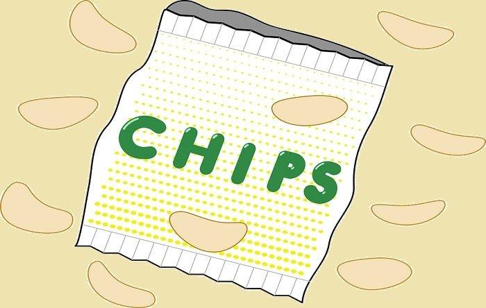 Bevat light chips minder calorieën dan normale chips?