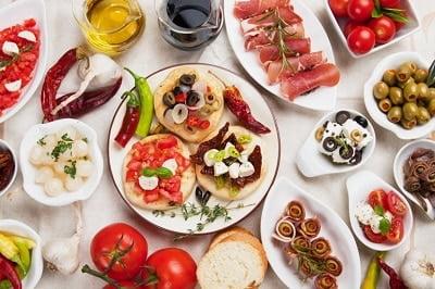 Langer gezond met een mediterraan dieet