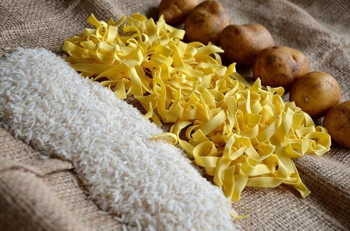 Kun je afvallen met pasta, rijst en aardappelen?