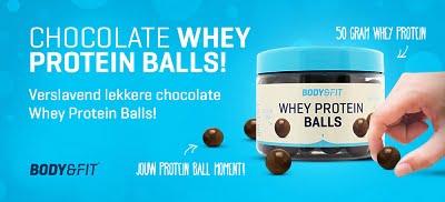 Proteïne ballen met chocola!
