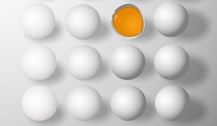 Rauwe eieren eten: verstandig of niet?
