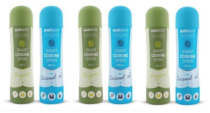 Review: Smart Cooking Spray van Body & Fit