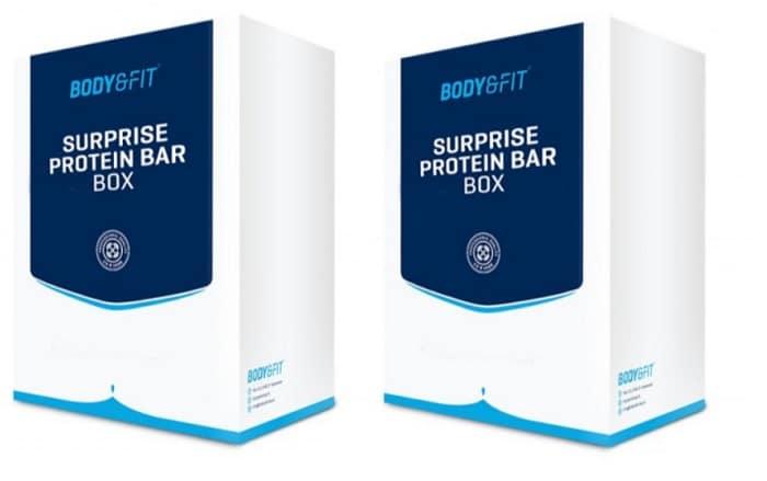 Review: Surprise protein bar box van de Body & Fitshop