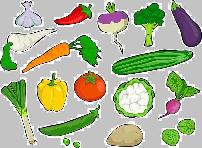 Vergeten groenten lijst!