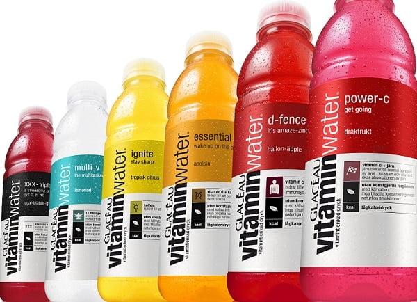 Waarom je Vitamin Water beter kunt laten staan!