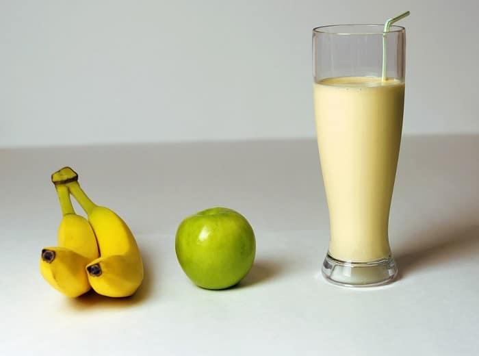 Zelf een proteïne shake maken!