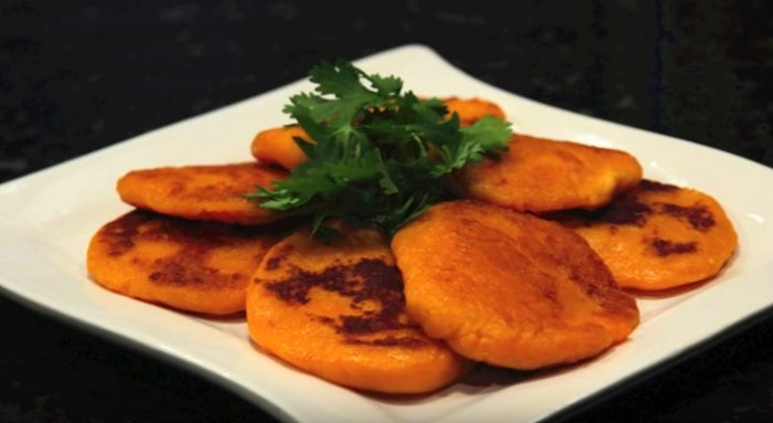 Recept: zoete aardappelpannenkoek!
