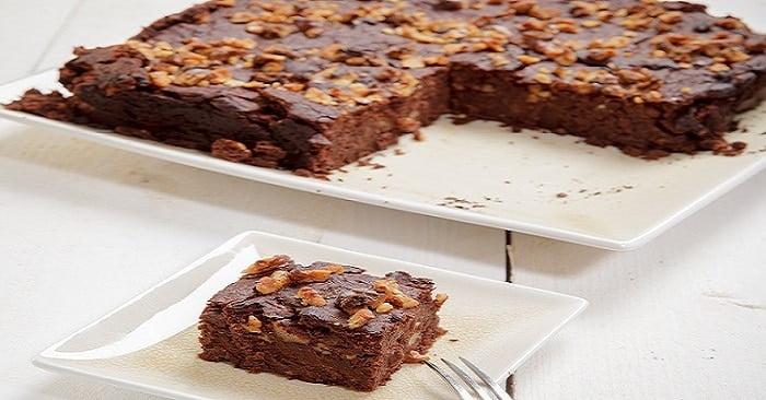Zwarte bonen brownies!